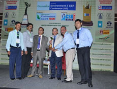 NRL Bags Greentech Environment Award- 2012