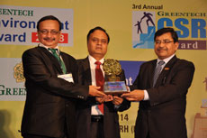 Greentech Environment award for Refinery - Gold Category