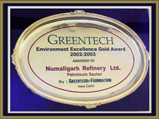 Greentech Award 2002