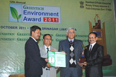 Greentech Environment Award 2011